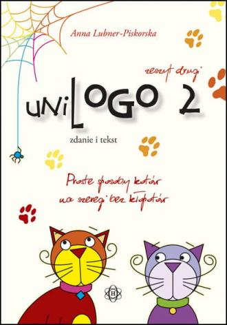 UniLogo 2. Zdanie i tekst - okładka książki