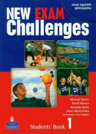 Challenges Exam New 1. Student - okładka podręcznika