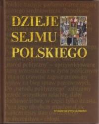 Dzieje Sejmu polskiego - okładka książki