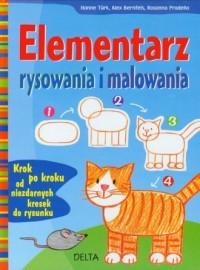Elementarz rysowania i malowania - okładka książki