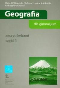 Geografia dla gimnazjum. Zeszyt ćwiczeń cz. 1 - okładka podręcznika