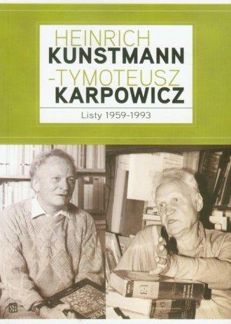 Heinrich Kunstmann - okładka książki