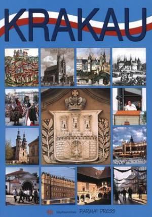 Kraków (wersja niem.) - okładka książki