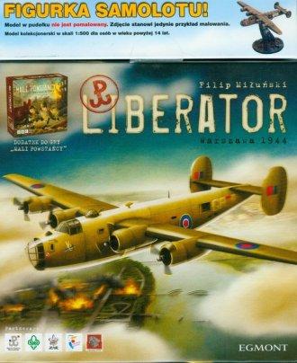Liberator (gra planszowa + figurka - zdjęcie zabawki, gry