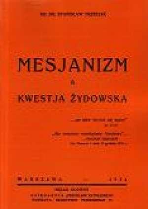 Mesjanizm a kwestia żydowska - zdjęcie reprintu, mapy