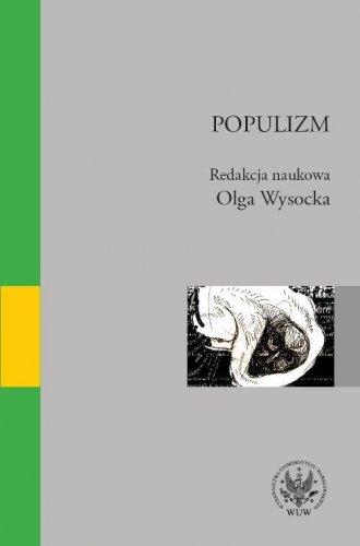 Populizm - okładka książki
