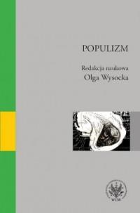 Populizm - Wydawnictwo - okładka książki