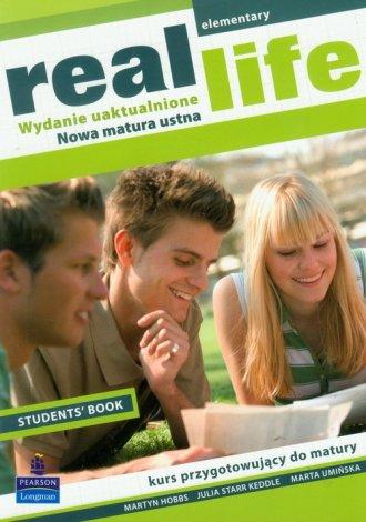 Real Life. Elementary Student s - okładka podręcznika