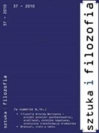 Sztuka i filozofia nr 37/2010 - okładka książki