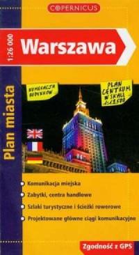 Warszawa (plan miasta) - okładka książki