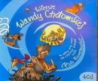 Wiersze Wandy Chotomskiej (4 CD) - pudełko audiobooku