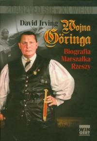 Wojna Goringa - okładka książki