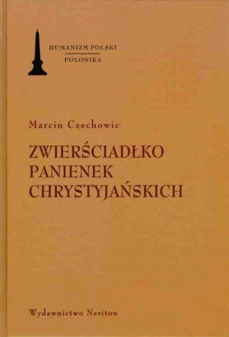 Zwierściadłko panienek chrystyjańskich - okładka książki