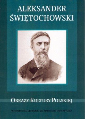 Aleksander Świętochowski - okładka książki