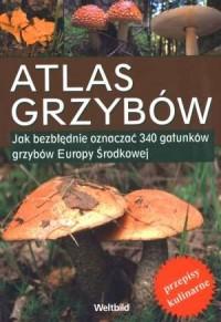 Atlas grzybów - okładka książki