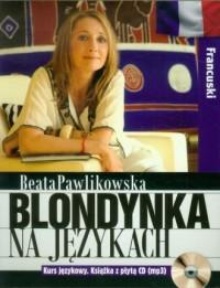 Blondynka na językach. Francuski - okładka książki