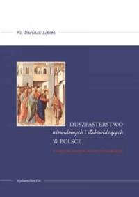Duszpasterstwo niewidomych i słabowidzących - okładka książki