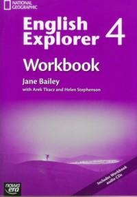 English Explorer 4. Workbook (+ CD) - okładka podręcznika