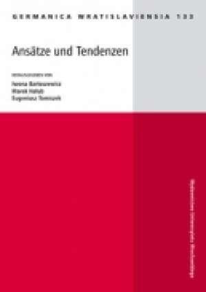 Germanica Wratislaviensia 133. - okładka książki