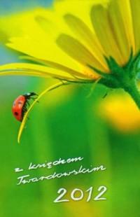 Kalendarz 2012 z księdzem Twardowskim /biedronka - okładka książki