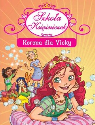 Korona dla Vicky - okładka książki