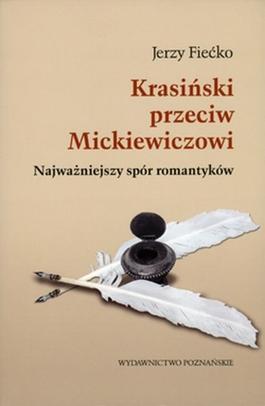 Krasiński przeciw Mickiewiczowi - okładka książki