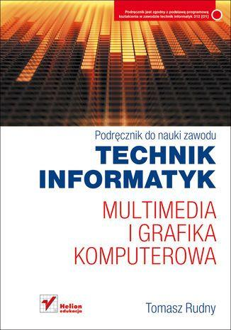 Multimedia i grafika komputerowa. - okładka podręcznika