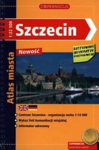 Szczecin. Atlas miasta (skala 1:22 500). Copernicus - okładka książki