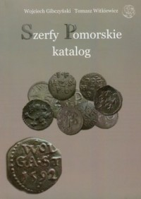 Szerfy Pomorskie katalog - okładka książki