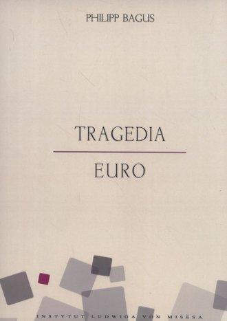 Tragedia euro - okładka książki