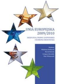Unia Europejska 2009/2010. Aksjologia, - okładka książki