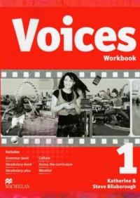 Voices 1. Workbook (+ CD) - okładka podręcznika