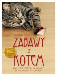 Zabawy z kotem - okładka książki