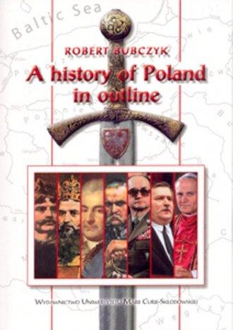 A history of Poland in outline - okładka książki