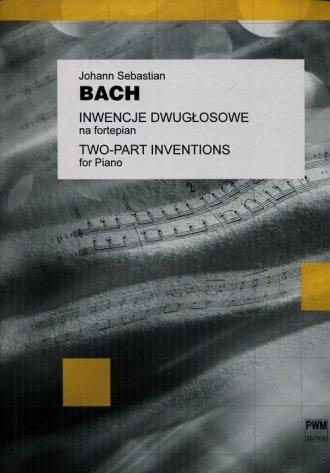 Inwencje 2-głosowe na fortepian - okładka książki