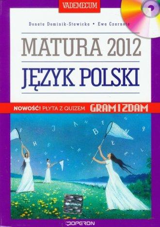 Język polski. Vademecum. Matura - okładka podręcznika