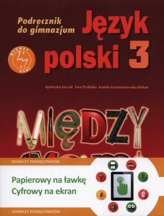 Między nami. Klasa 3. Gimnazjum. - okładka podręcznika