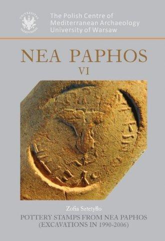 Nea Paphos VI - okładka książki