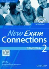 New Exam Connections 2. Elementary Workbook (+CD) - okładka podręcznika