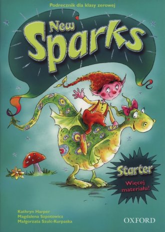 New Sparks Starter. Podręcznik - okładka podręcznika