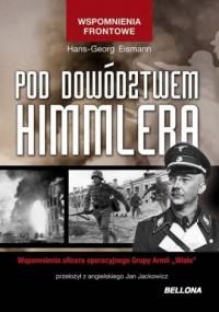 Pod dowództwem Himmlera - okładka książki