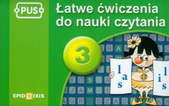 PUS 3. Łatwe ćwiczenia do nauki - okładka podręcznika