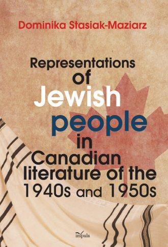 Representations of Jewish people - okładka książki