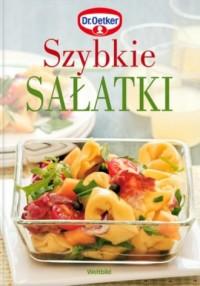 Szybkie sałatki - okładka książki