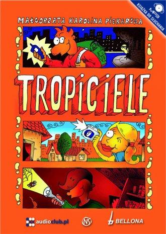 Tropiciele (CD) - pudełko audiobooku