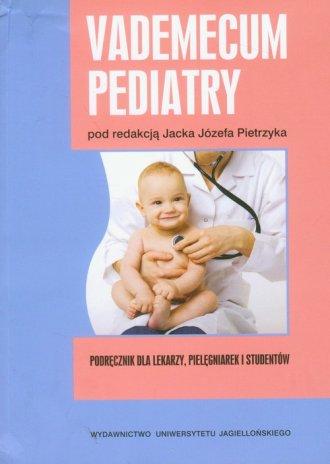 Vademecum pediatry - okładka książki