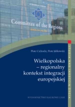 Wielkopolska - regionalny kontekst - okładka książki