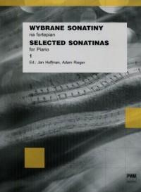 Wybrane sonatiny na fortepian. Zeszyt 1 - okładka książki