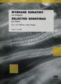 Wybrane sonatiny na fortepian. Zeszyt 2 - okładka książki