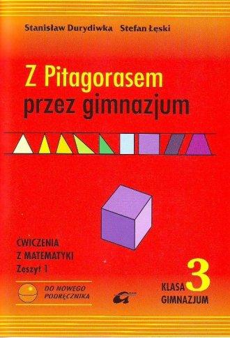 Z Pitagorasem przez gimnazjum. - okładka podręcznika